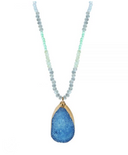 Small Druzy Necklace