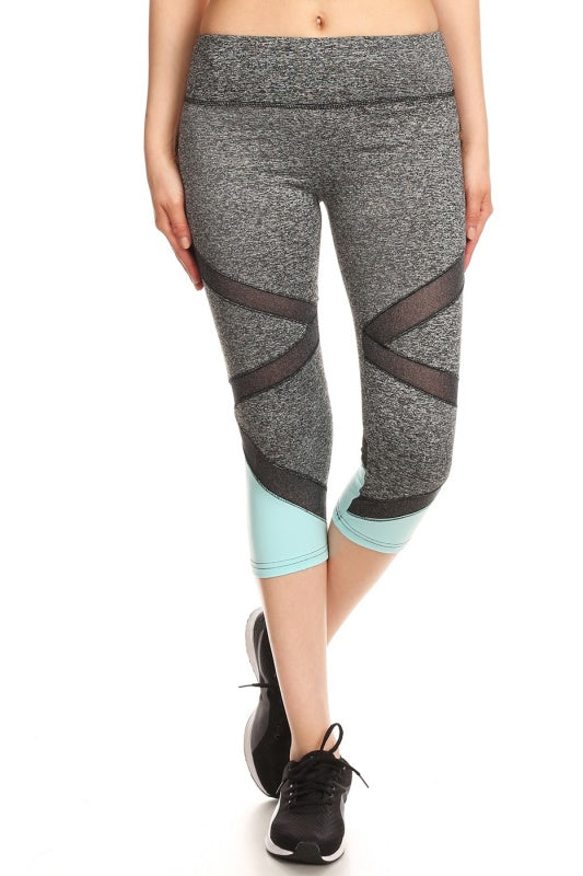 Criss Cross Crop Legging