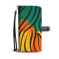 African Pattern Wallet Phone Case