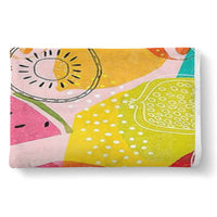 Fruit Design Cozy Sherpa Blanket (for Adults)