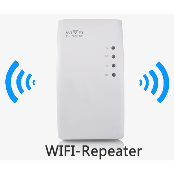 WiFi Genius Repeater - Instantly Double Your WiFi Range (Shipped From USA)