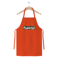 Powerful Camo Premium Jersey Apron