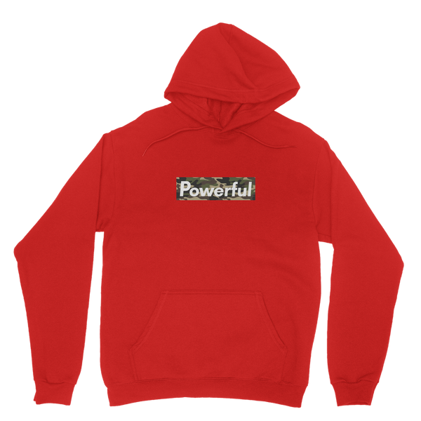 Powerful Camo Classic Adult Hoodie