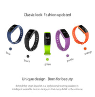 Water Resistant Smart Watch With Hear Monitor - iPhone / Android