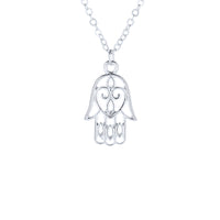 Trendy Hamsa Hand of Fatima All Is Well Choker Necklace For Women