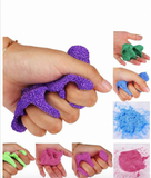 Colorful and Fluffy Foam Scented Slime