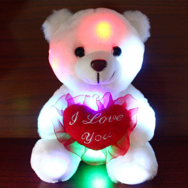 Cute & Glowing Love Valentine Bear