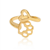 Adjustable Animal Ring