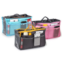Slim Bag-in-Bag Purse Organizer - Assorted Color (Shipped From USA)