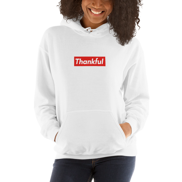 Thankful Hooded Sweatshirt - Very Cool Hoodie for all Genders