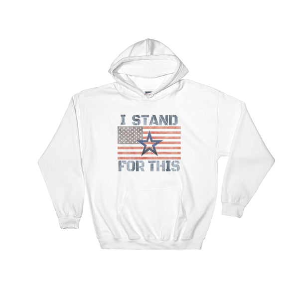 I Stand For This Cowboys Unisex Hooded Sweatshirt