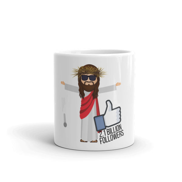 Jesus 2.1 Billion Followers Mug