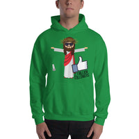 Jesus 2.1 Billion Followers Hooded Sweatshirt