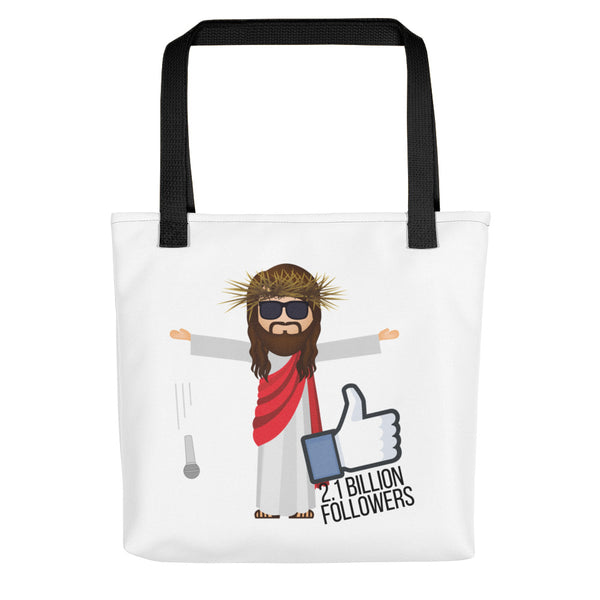 Jesus 2.1 Billion Followers Tote bag