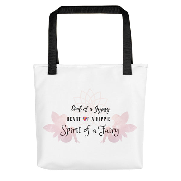 Simple Gypsy Hippie Fairy Tote bag