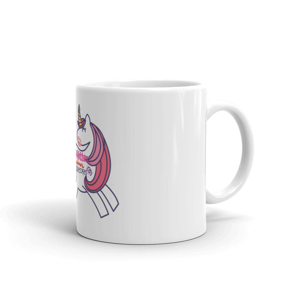 Fart Glitter Sh*t Rainbows Be a Unicorn Mug