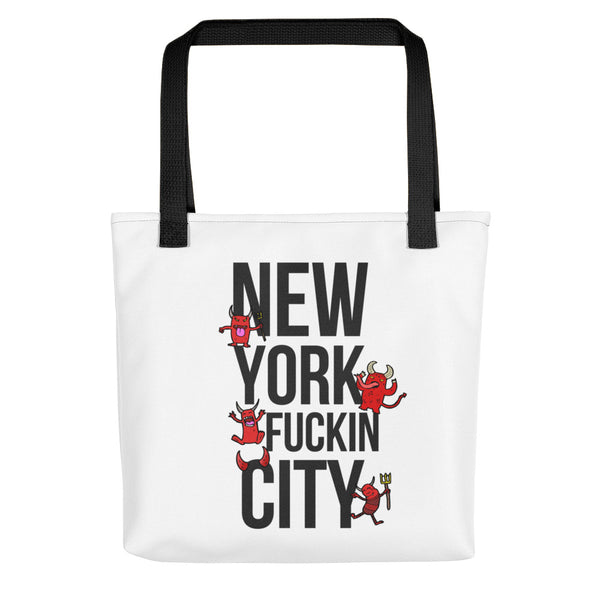 New York Fuckin City Tote bag
