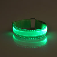 Flashing LED Reflective Armband