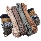 Paracord Rope - Every Color - 100FT For Climbing Camping Survival (Parachute Cord 550)