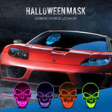 Cool Halloween Skeleton LED Glow Mask  for Purge Themed Halloween, Rave Parties, Clubs, Masquerades, Costume Parties