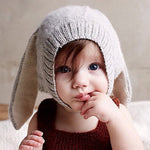 Crochet Bunny Hat For Baby Boys/Girls - 4 to 18 months