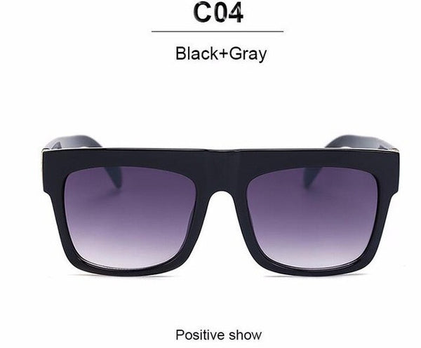 Famous Square Designer Sunglasses - With UV400 Protection