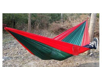 Portable Parachute Hammock - 24 Colors, Holds 2 People, Camping/Survival
