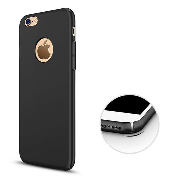 Thin Luxuriously Smooth Armor Case for iPhone - W/ Logo