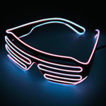 LED Light Up Glasses - Raves, Weddings, Parties, Holidays