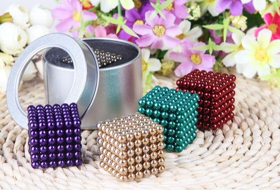 Multi Color Magnetic Balls Cube