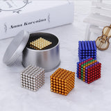 Magnetic Balls Toy - 5mm 125 piece set