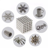 Magnetic Toy - 216 Piece Pack of 5mm Magic Sphere Magnets