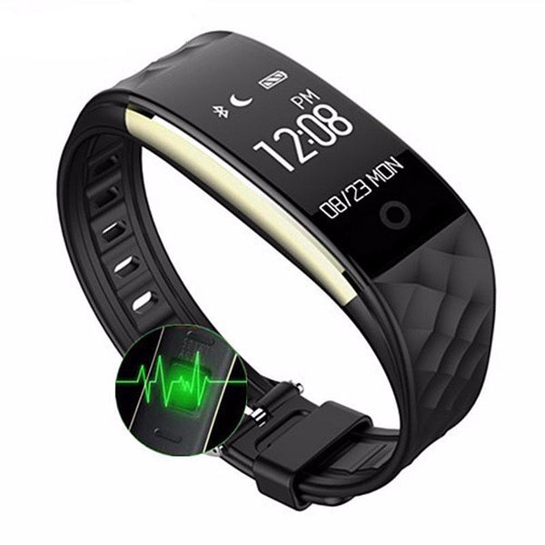 Waterproof Smart Watch | Heart Rate Monitor | Bluetooth 4.0 Wristband