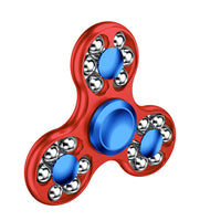 Metal Ball Tri-Fidget Spinner - Anti-Stress Puzzle Toy