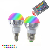 LED Light Bulb with Remote Control