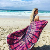 Boho Bathing Suit Kimono Tunic Bikini Cover Up