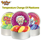 Thinking Putty 2019 NEW Intelligent Creative playdough Temperature Change Turns Color