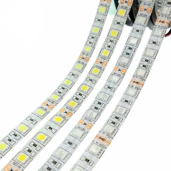 LED Light Strip - 5 Meters, Flexible, Waterproof, All Colors
