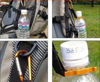 Camping Carabiner - Water Bottle Hook, Clip for Hiking