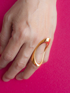 Wing Ring Gold
