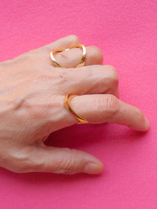 Aladdin Infinity Ring Gold