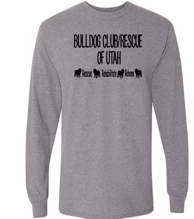 Bulldog Club of Utah Logo Special for ***October Only***