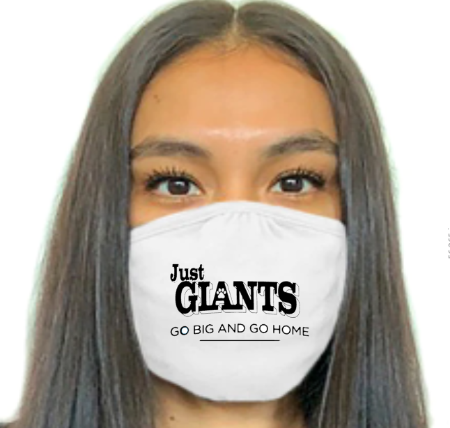 Logo Mask-  Just Giants
