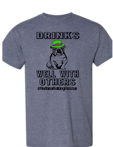 Drinks Well With Others full body- Indiana Bulldog