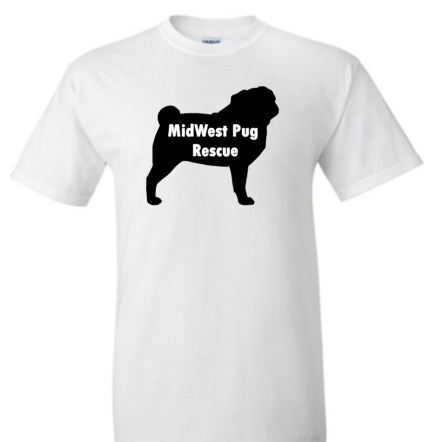 MidWest Pug Rescue Logo Special for ***October Only***