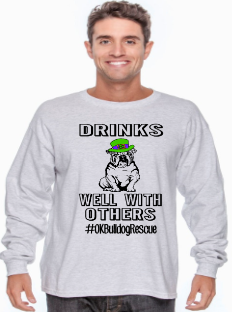Drinks Well With Others- OK Bulldog