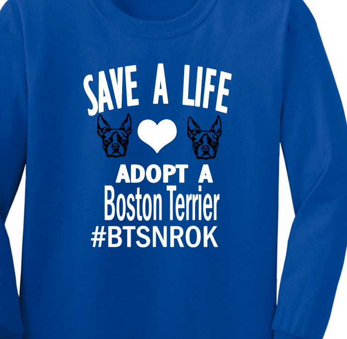 Save a Life Adopt a Boston- #BTSNROK