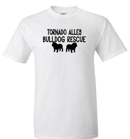 Tornado Alley Bulldog Rescue Logo Special for ***October Only***