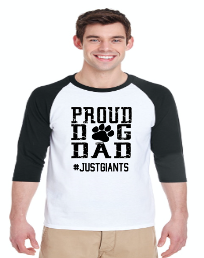 Proud Dog Dad- Just Giants