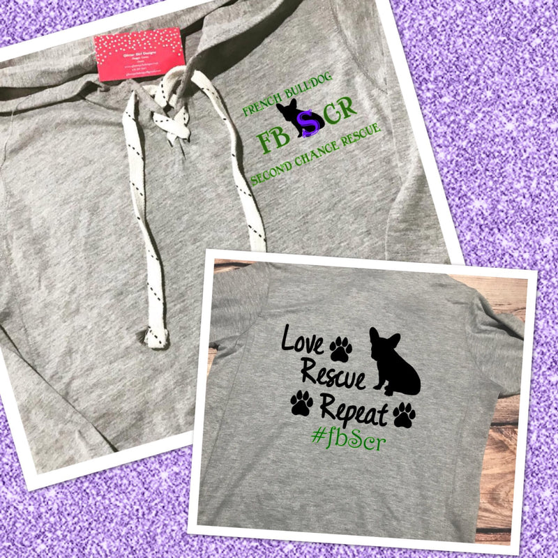 French Bulldog Second Chance Rescue Logo